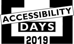 Accessibility Days 2019
